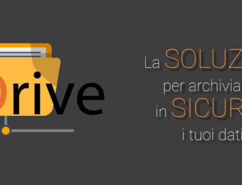 GEDrive – La soluzione per archiviare e condividere in sicurezza i tuoi dati