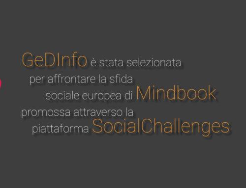 GeDInfo è stata scelta per la sfida Mindbook